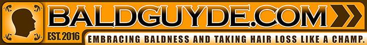 BaldGUYde 728 x 90 Banner Ad