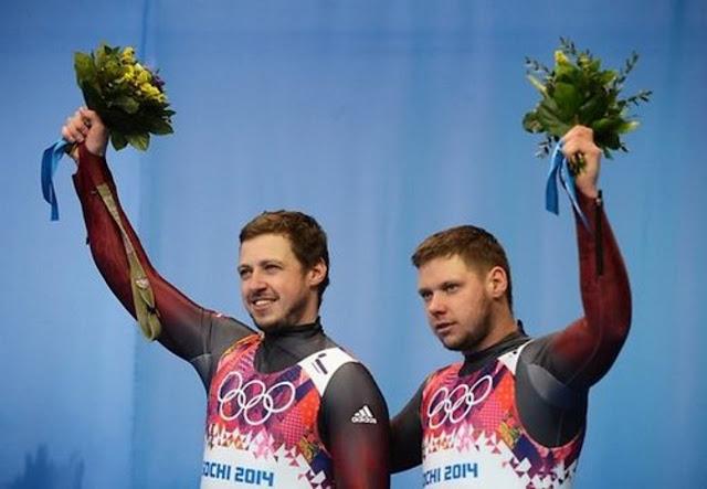 Андрис Шицс (Andris Šics) и Юрис Шицс (Juris Šics) олимпийцы сборной Латвии