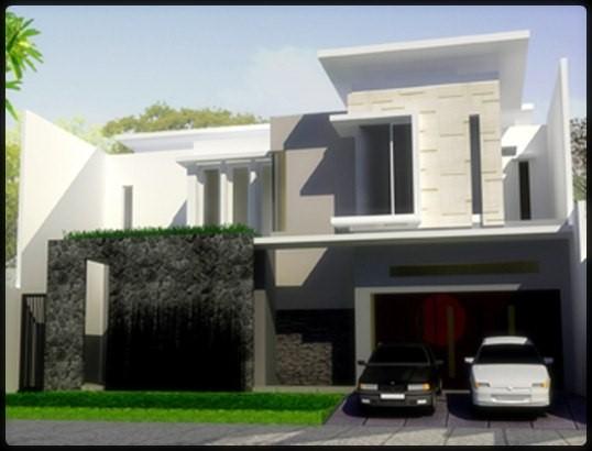 model rumah minimalis 2 lantai 2