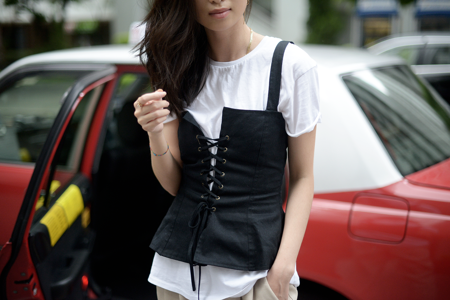 Callipygian Corset Top - All Recharged in Hong Kong / FOREVERVANNY.com