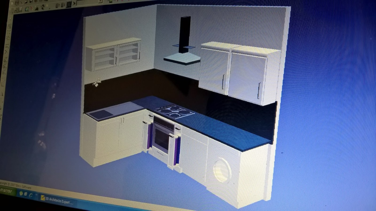 B t s r alisation d 39 un projet 3d dans la rubrique cuisine for Cuisine projet 3d