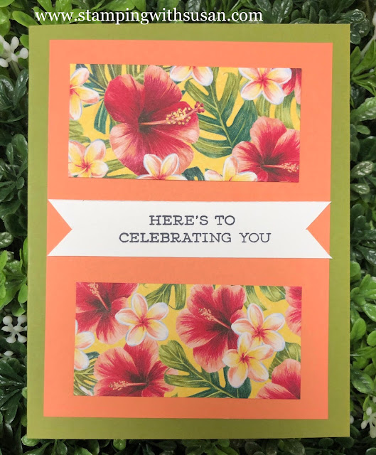 Stampin' Up!, Tropical Oasis, www.stampingwithsusan.com, 2020 Mini Catalog, Friend Like You,