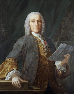 A portrait of Domenico Scarlatti, painted by  Domenico Antonio Valasco in 1738