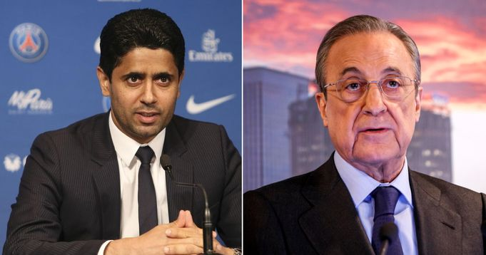 PSG owner hit at Real Madrid and other Super League clubs