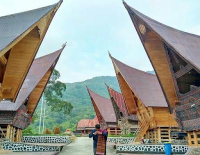 Rumah adat Sumatera utara ( Rumah bolon)