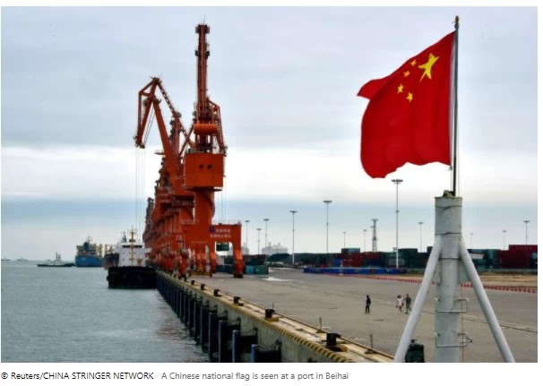 China passed an export control law after the US move