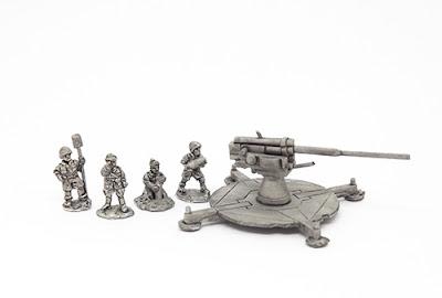 10mm Wargaming: Cannone da 90/53 & Sherman Jumbo from