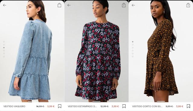 Vestidos Lefties Rebajas verano 2021 precios 1