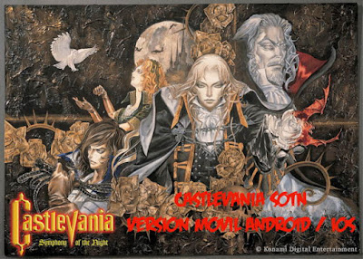 castlevania symphony of the night version para moviles android y apple