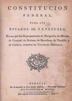Primera Constitución de Venezuela y Latinoamérica