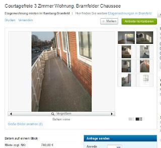 bramfelder chaussee gegen wohnungsbetrug against rental scammers. Black Bedroom Furniture Sets. Home Design Ideas