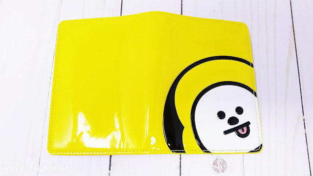 BT21 Chimmy Enamel Passport Cover