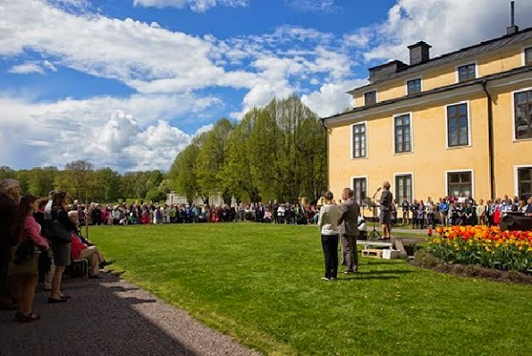 Princess Victoria Attends The WWF's Annual Meeting Held At Ulriksdal