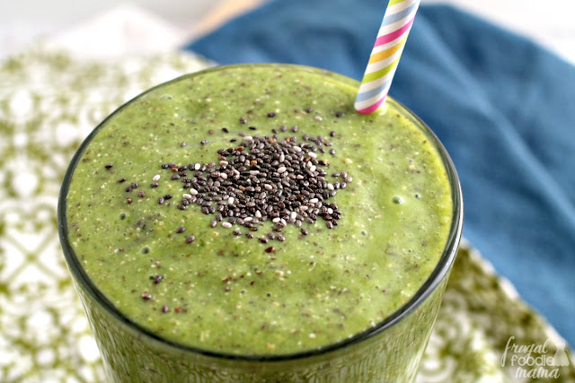 This thick & creamy Matcha Chia Pudding Green Smoothie is protein-packed and loaded with antioxidants, Vitamin A,  & Omega-3 fatty acids. The perfect pre-workout meal!
