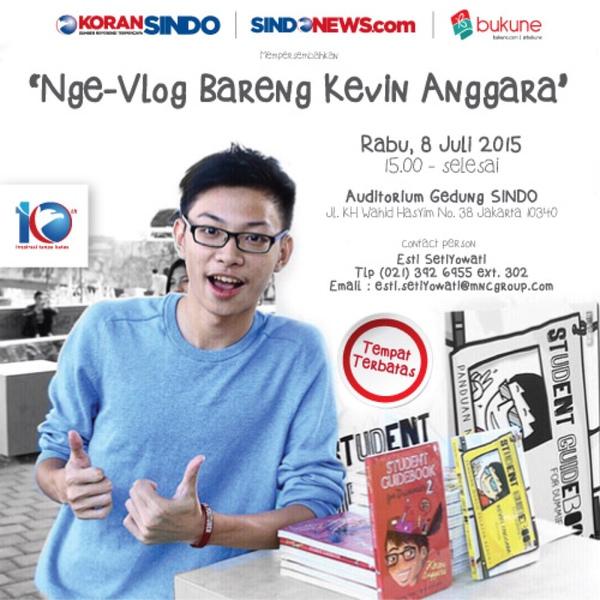Nge-Vlog Bareng Kevin Anggara