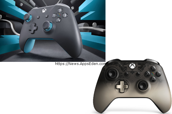 Microsoft debuts Xbox Wireless Controller - GreyBlue and Xbox Wireless Controller - Phantom Black Special Edition