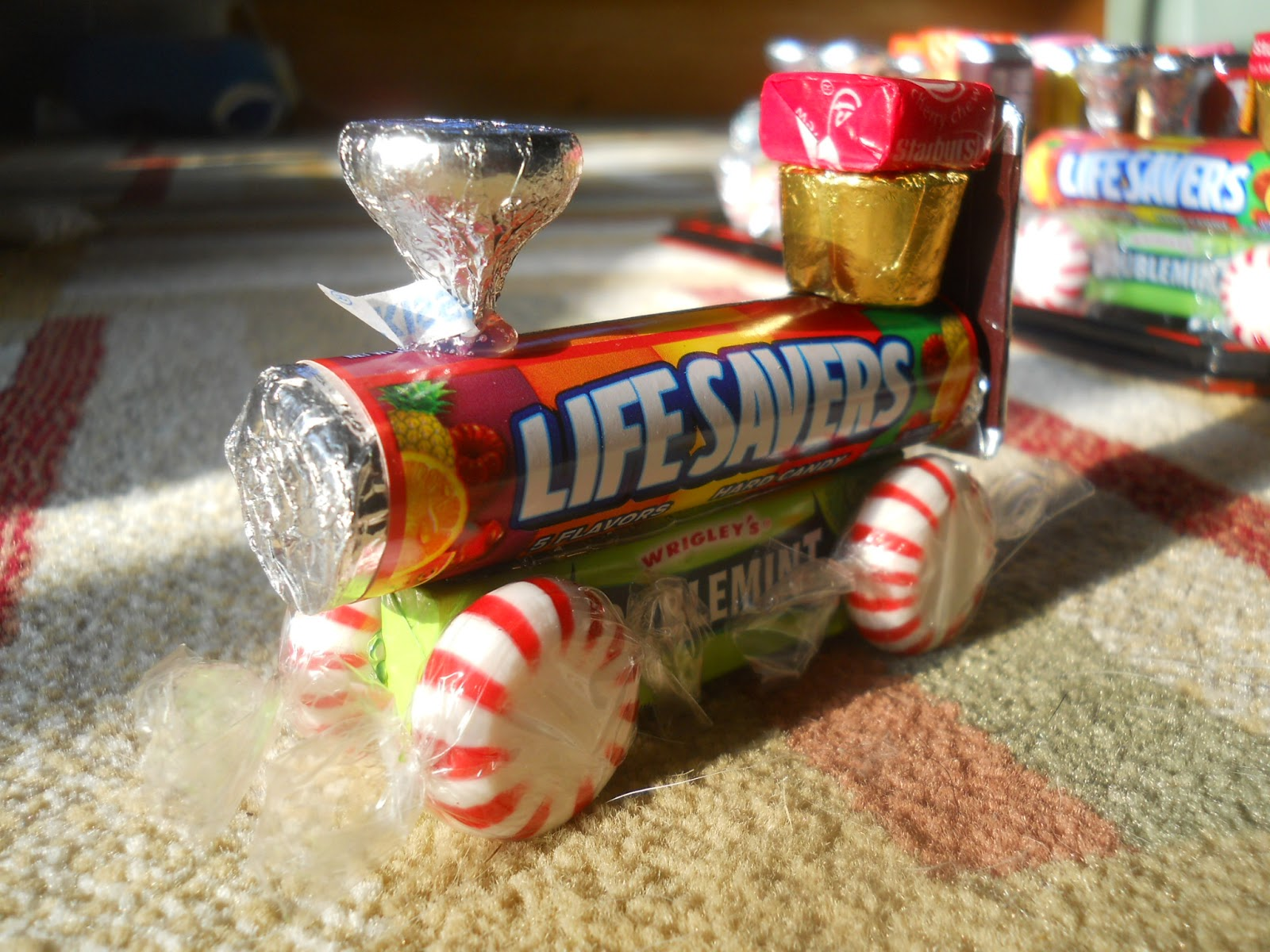 Christmas Candy Train.Japan Home Sweet Home Candy Trains