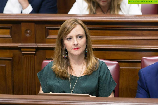 """Nieves Lady Barreto: """"CC presenta enmiendas a los PGE por valor de 12,3 millones de euros para corregir el grave descenso de la inversión estatal en La Palma"""""""