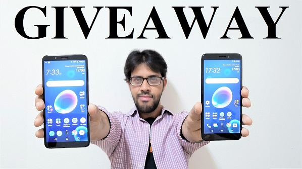 GIVEAWAY - 4 HTC Desire 12 and Desire 12+ Smartphone