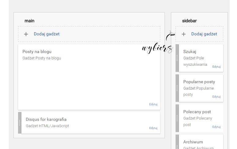 jak dodać wyszukiwarkę w bloggerze