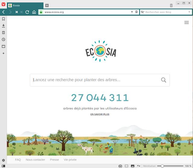 5 Ecosia Browser