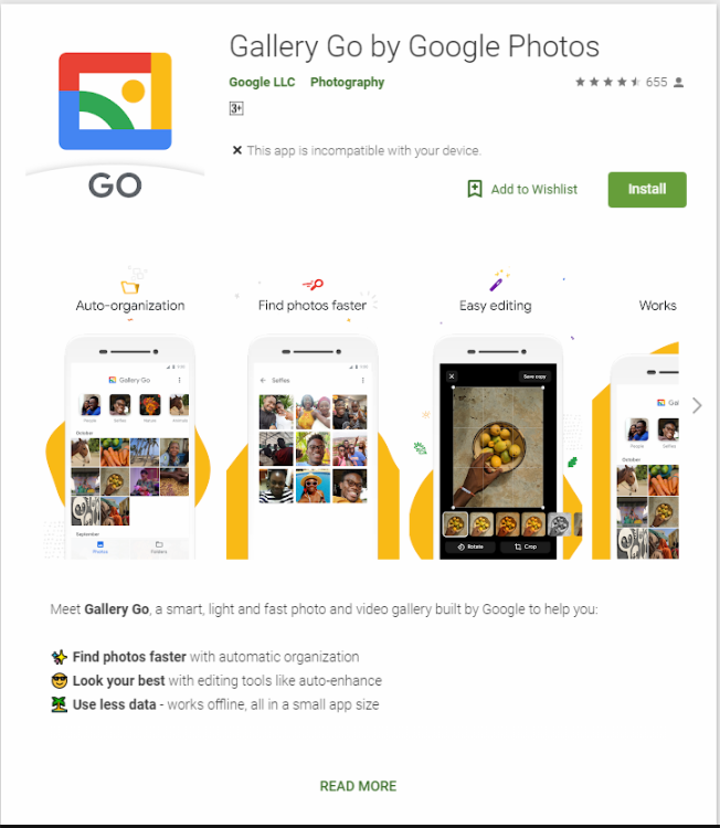 Gallery Go Launched as a Lightweight Google Photos Replacement, Now Available in Google Play Store |TechNews