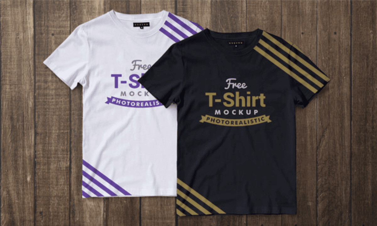 Download Premium T-Shirt Mockup PSD Gratis