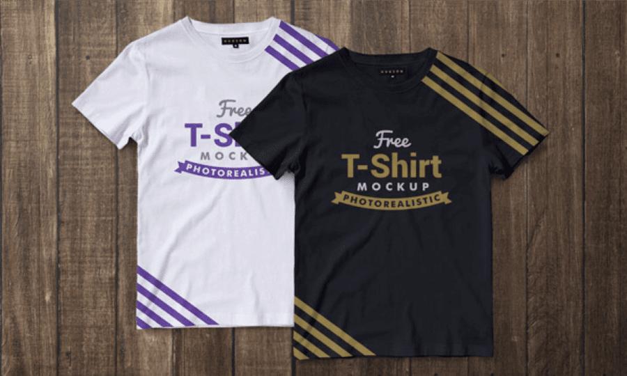 Download Premium T-Shirt Mockup PSD Gratis