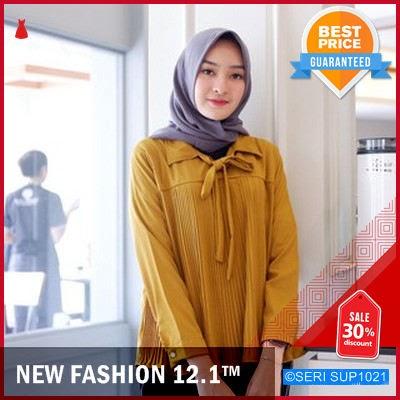 SUP1021A24 Atasan Plisket Pleated Import Wanita Murah BMGShop