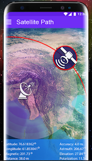 Satellite Finder - Dish Setting With Mobile