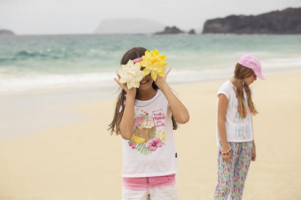 Moda 2018 ropa para niñas Mimo &Co.