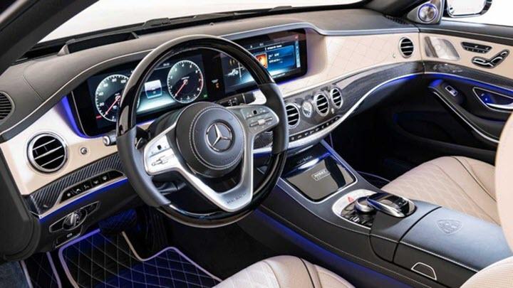 Mercedes-Maybach S650 phiên bản Bóng Đêm giá gần 243.000 USD