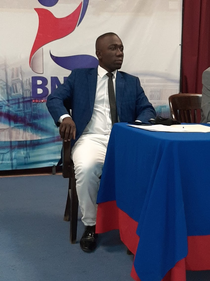 Images de la réouverture officielle de la Bibliothèque Nationale D'Haïti