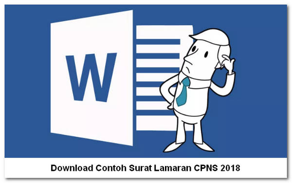 Download Contoh Surat Lamaran CPNS 2018