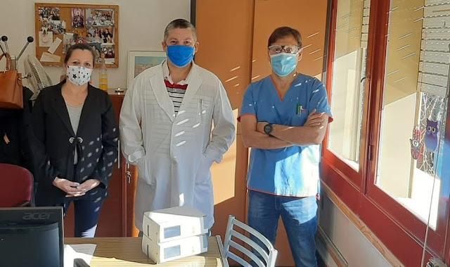 "Realizaron importante aporte para la UTI del Hospital ""Fossati"""