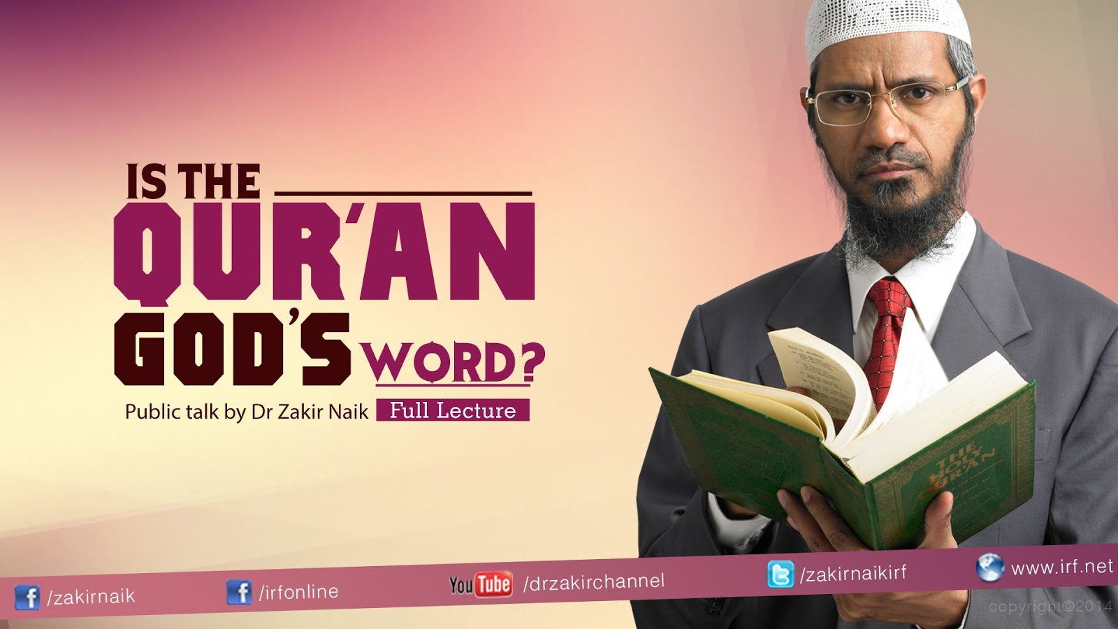 Islam for Our Solutions: LIST OF ALL VIDEO LECTURES BY DR ZAKIR NAIK