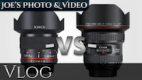 Rokinon 14mm f/2.8 vs. Canon 11-24mm f/4L Lens - Clarification On Their Comparison | Vlog