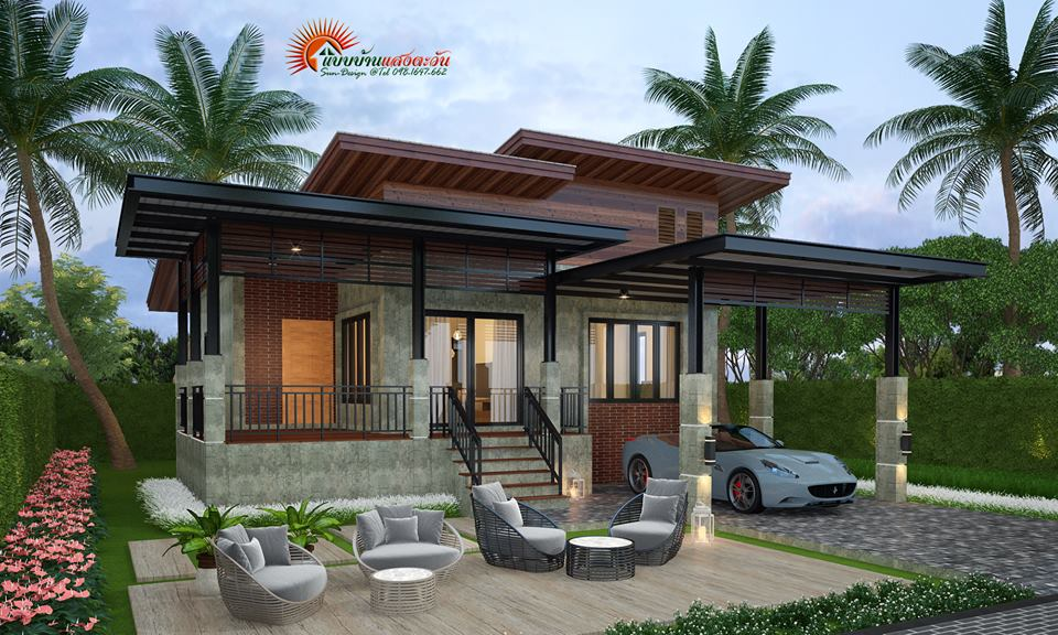 House plans come in all shapes and sizes nowadays. From box-type houses to bungalows, there's a lot of new design to consider. Here are five gorgeous single-detached homes that come with a detailed plan. Just imagine yourself coming home in one of these stylish modern homes every day. Considered to be small but far from boring. With the thoughtful use of muted colors, clear glass windows and striking lights, the façade of these five houses exudes total elegance and taste.   House Design No. 1 — One-Story Box House With Roof Deck 2 Bedrooms 1 Bathroom 1 Living Room or Hall 1 Kitchen 1 Porch (9 x 4 meters) 1 Deck (9 x 7 meters) Total Living Space (9 x 7 meters)  House Design No. 2 — Modern Style Single-Story Residential House  2 Bedrooms 3 Bathrooms 1 Living Room or Hall 1 Kitchen 1 Porch Living Area (14 x 9 meters) Source TP5home  House Design No. 3 — Small Modern House Plan 2 Bedrooms 3 Bathrooms 1 Living Room or Hall 1 Kitchen 1 Porch — 30 sqm Total Living Space — 112 sqm   House Design No. 4 — 3-Bedroom Modern Home 3 Bedroom 2 Bathroom 1 Kitchen 1 Living Room 1 Terrace Living Area — 95 sqm Source: Sun Design   House Design No. 5 — Stylish Small House With Garage 3 Bedroom 1 Bathroom 1 Kitchen 1 Living Room 1 Terrace or Receiving Area 1 Car Park — 18 sqm Living Area — 87 sqm Source: Sun Design