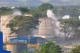 vizag gas leak bisakhapottonam