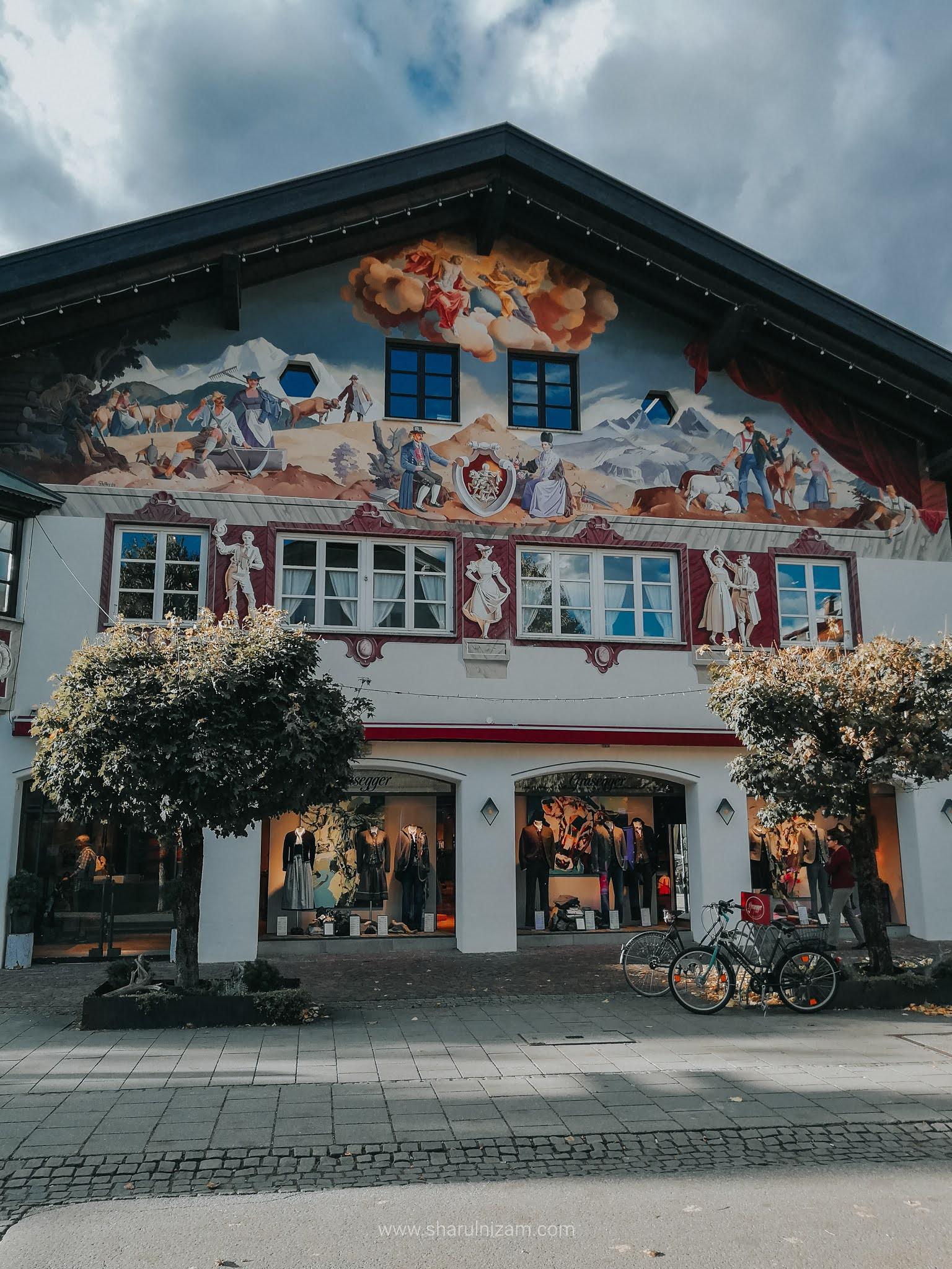 Makan Tengah Hari & Solat Di Garmisch Partenkirchen
