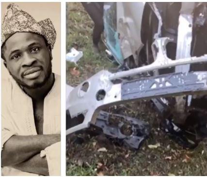 Comedian Craze Clown Escapes Death After Surviving Ghastly Car Accident (video) #Arewapublisize