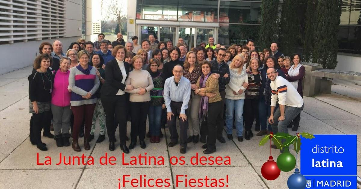 La junta de latina felicita la navidad 2016 gu a de aluche for Piscina municipal aluche