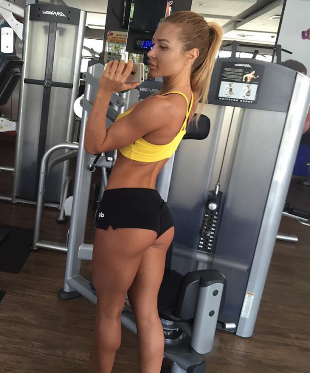 The most popular fitness kate Usmanova