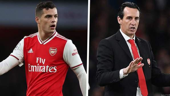 Emery: Xhaka Might Not Play for Arsenal Again