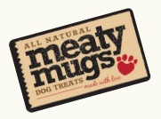 All Natural Meaty Mugs Dog Treats made with love