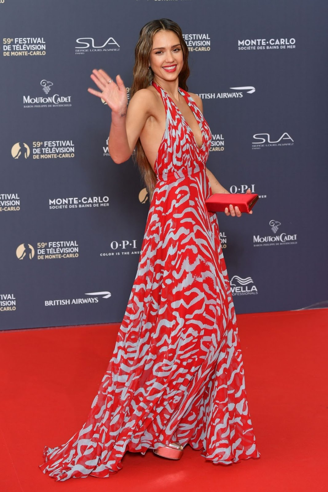 Jessica Alba – 59th Monte Carlo TV Festival Opening Ceremony in Monte-Carlo