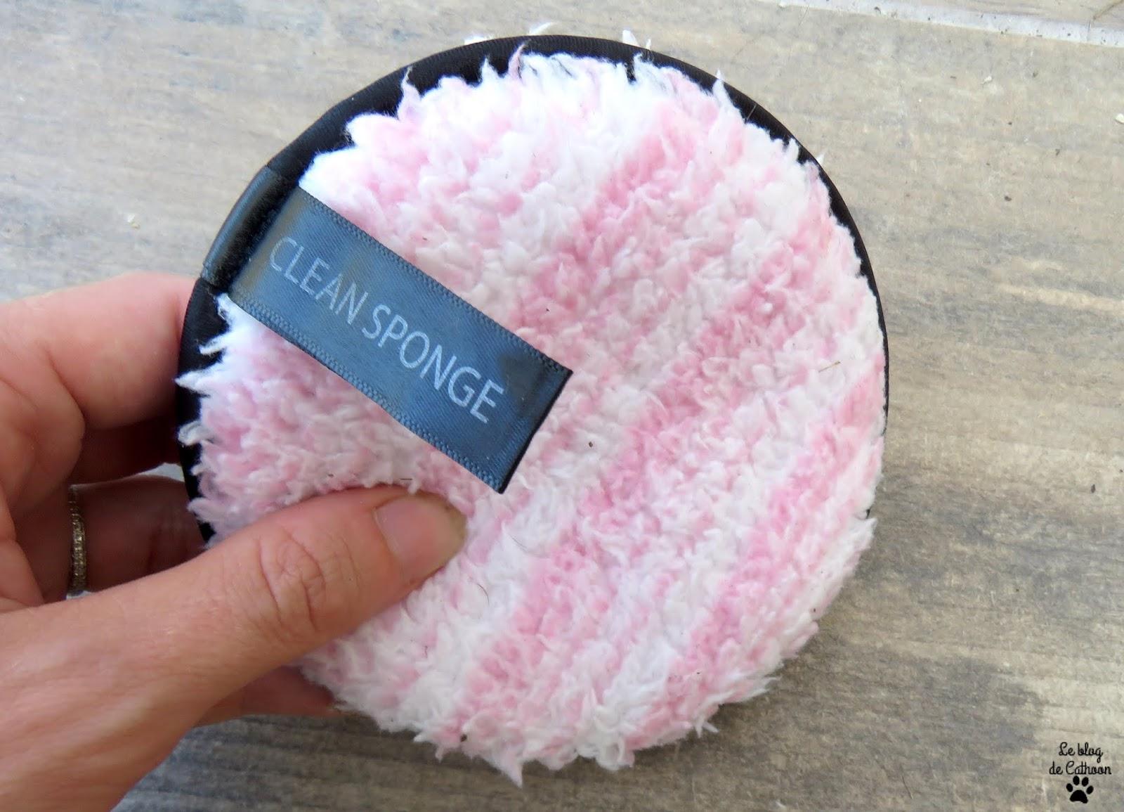 La Clean Sponge, l'éponge nettoyante visage