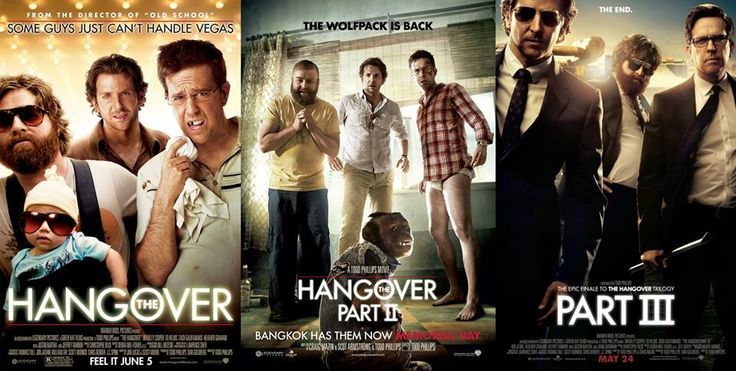 THE HANGOVER MOVIES COLLECTION (2009 - 2013) TAMIL DUBBED HD