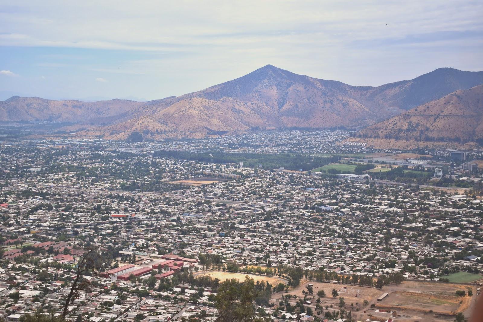 cerro san cristobal, santiago, chile