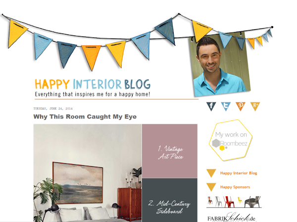 Celebrity In Creativity: Igor Josifovic from Happy Interior Blog